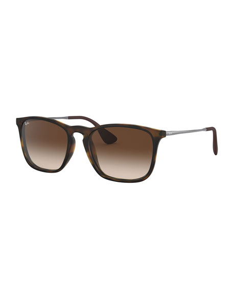 Ray-Ban Men's Square Gradient Injected Sunglasses