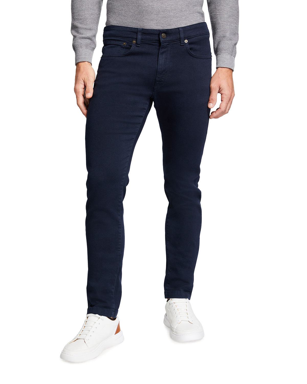 Men's Slim Dark-Wash Jeans