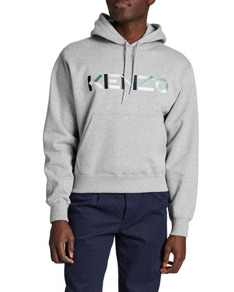 Kenzo Men's Multicolor Logo Hoodie Sweatshirt