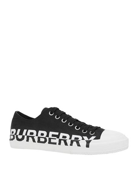 Burberry Men's Larkhall Logo Low-Top Sneakers