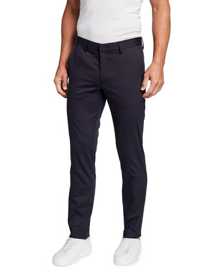 BOSS Men's Slim-Fit Stretch Travel Trousers