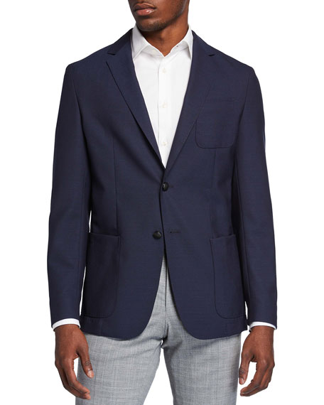 BOSS Men's Solid Slim-Fit Sport Jacket