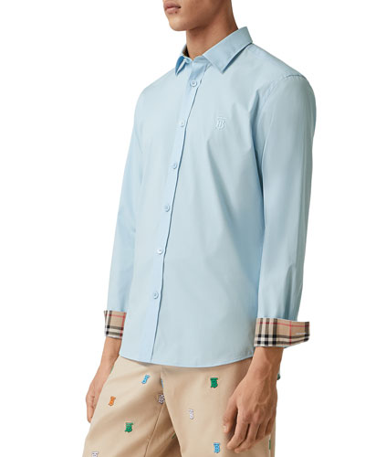 Men's Sherwood Vintage Contrast-Reverse Sport Shirt