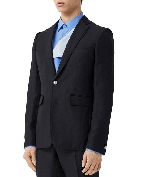 Burberry Men's Classic TB-Button Sport Jacket