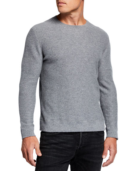TSE for Neiman Marcus Men's Recycled Cashmere Crewneck Sweater