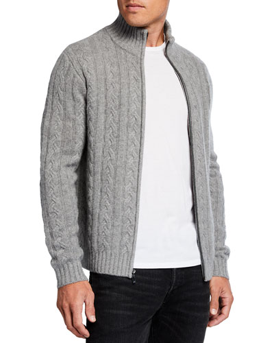 Teens Knitted Stretch  Cardigan Full Zip Front
