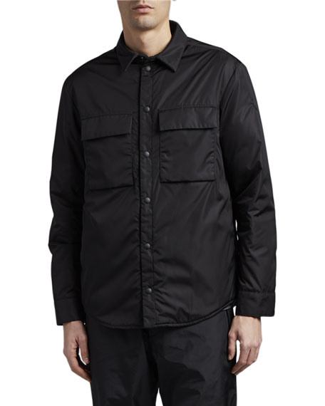 Moncler Men's Cassis Fleece-Lined Shirt Jacket