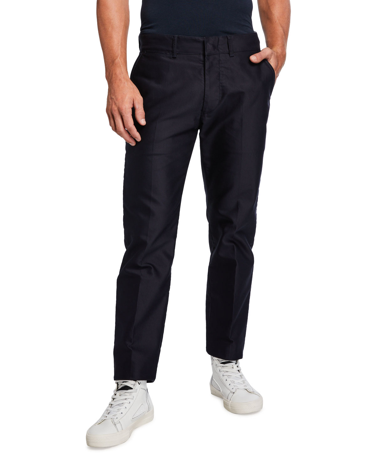 Tom Ford Cottons MEN'S MILITARY CHINO PANTS