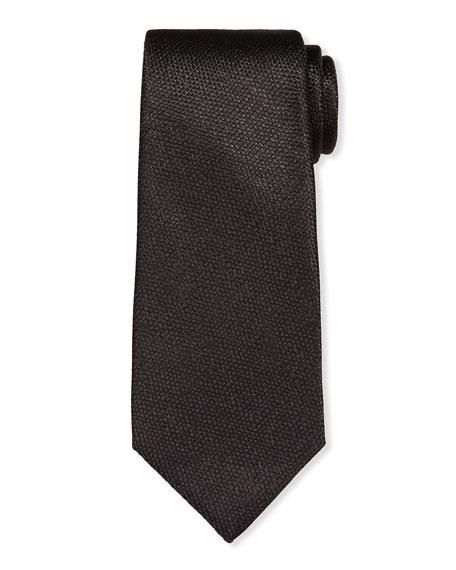TOM FORD Men's Textured Solid Silk Tie