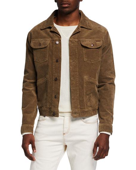 TOM FORD Men's Stretch-Corduroy New Iconic Jacket