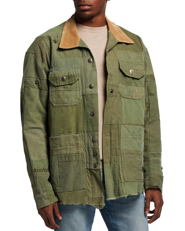 Men's Tent Scrapwork Studio Jacket