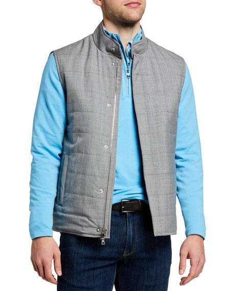 Peter Millar Men's Marina Quilted Vest