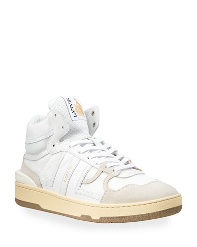 Men's Clay High-Top Tennis Sneakers