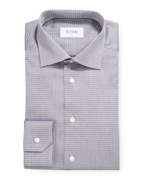 Eton Men's Royal Dobby Slim-Fit Dress Shirt