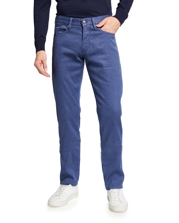 Ralph Lauren MEN'S SLIM COTTON-LINEN PANTS