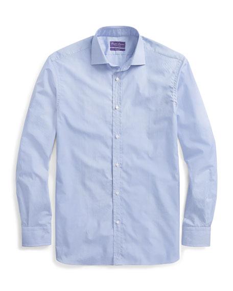 Ralph Lauren Purple Label Men's Aston Mini-Gingham Sport Shirt