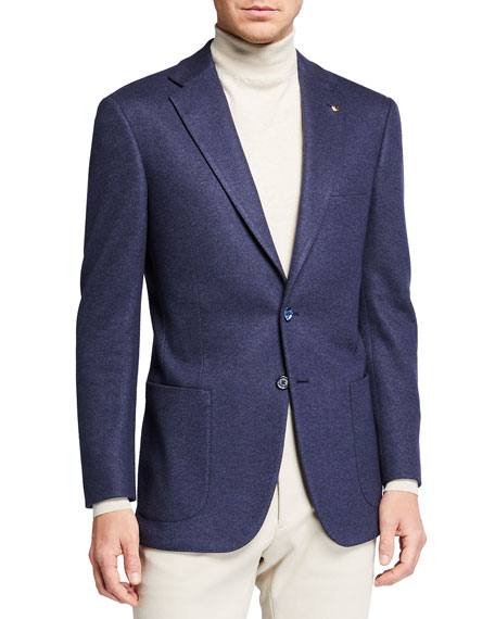 Stefano Ricci Men's Wool-Silk Deconstructed Knit Sport Jacket