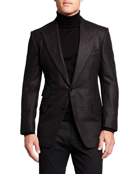 TOM FORD Men's Shelton Check Wool Sport Jacket