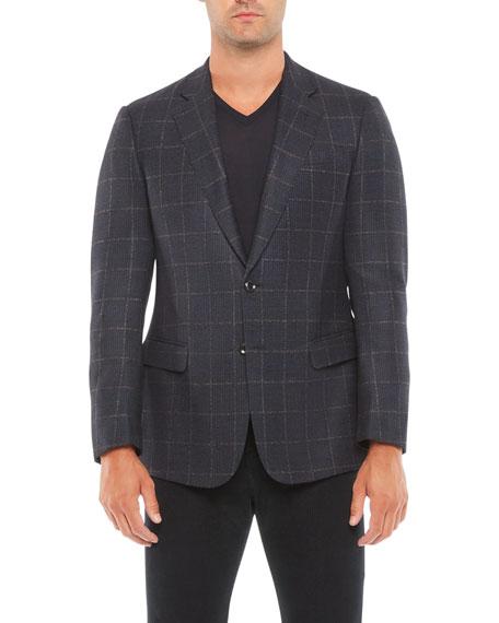 Giorgio Armani Men's Plaid Sport Jacket