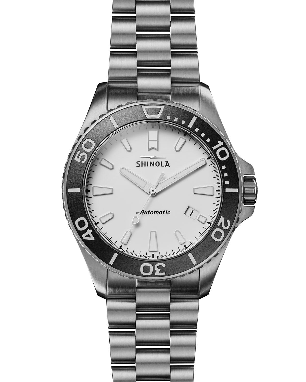 Men's 43mm Ice Monster Titanium Bracelet Watch