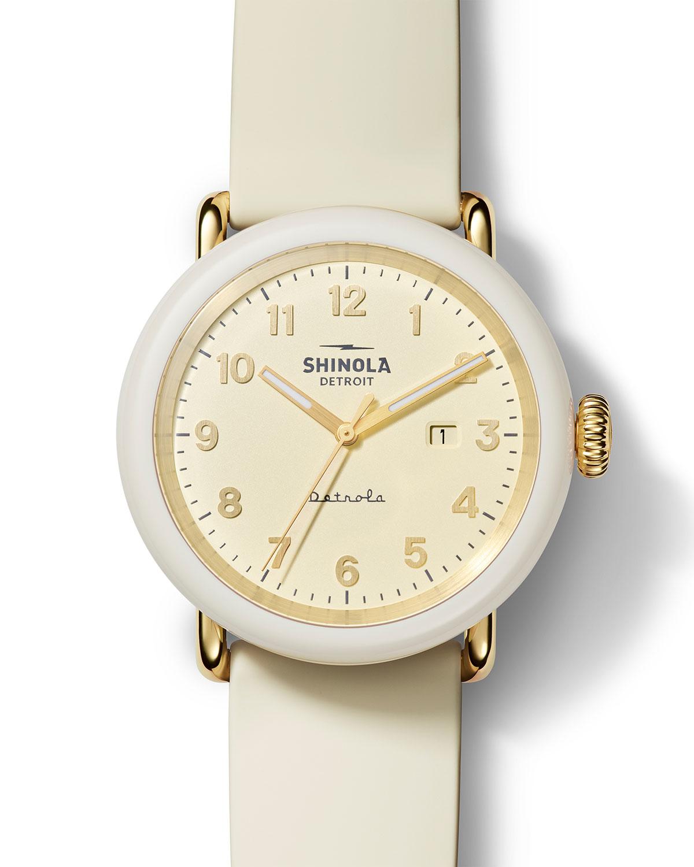Detrola Au Yeah 43mm Silicone Watch