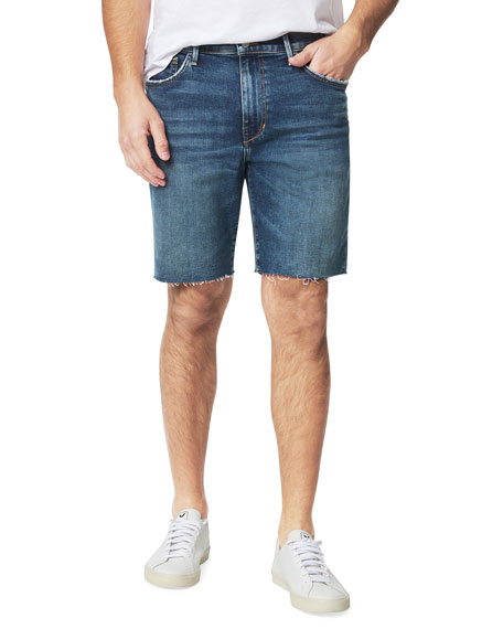 Joe's Jeans Men's Slim Cutoff Denim Bermuda Shorts