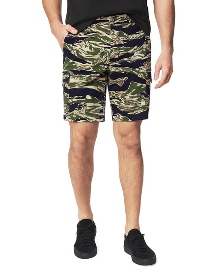 Joe's Jeans Men's Brixton Camo-Stripe Cargo Shorts