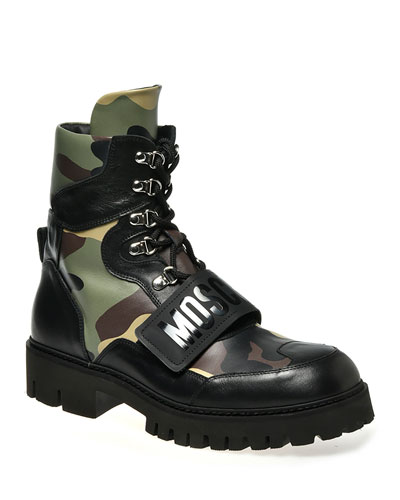 combat designer boots