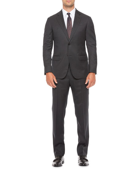 Emporio Armani Men's Two-Piece Pinstripe Suit