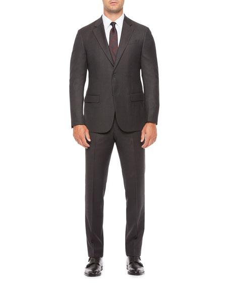 Emporio Armani Men's Two-Piece Micro-Neat Suit