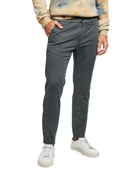 Scotch & Soda Men's Mott Garment Dyed Twill Chino Pants