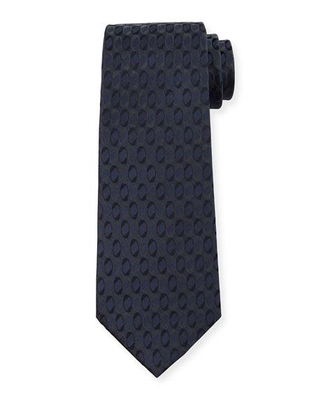 Giorgio Armani Men's Circle-Print Tie