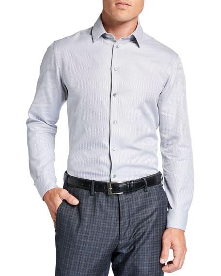 Giorgio Armani Men's Micro-Weave Sport Shirt
