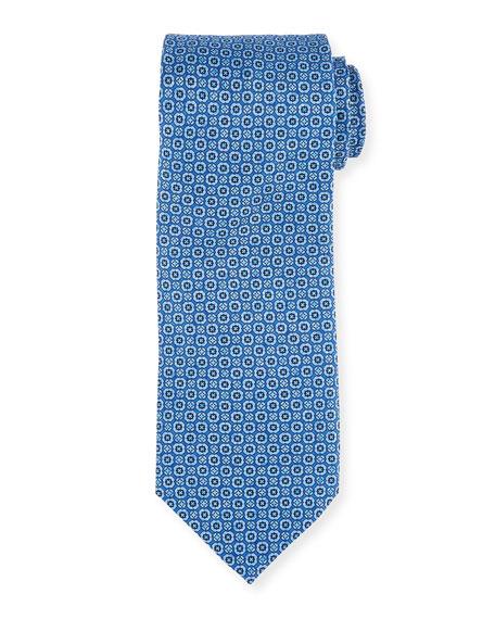 Stefano Ricci Men's Neat-Print Silk Tie