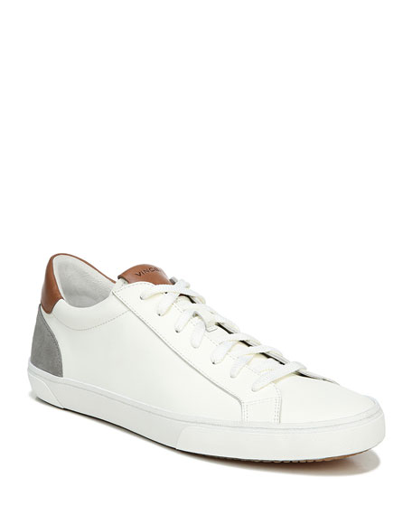 Vince Men's Parker Suede & Leather Low-Top Sneakers