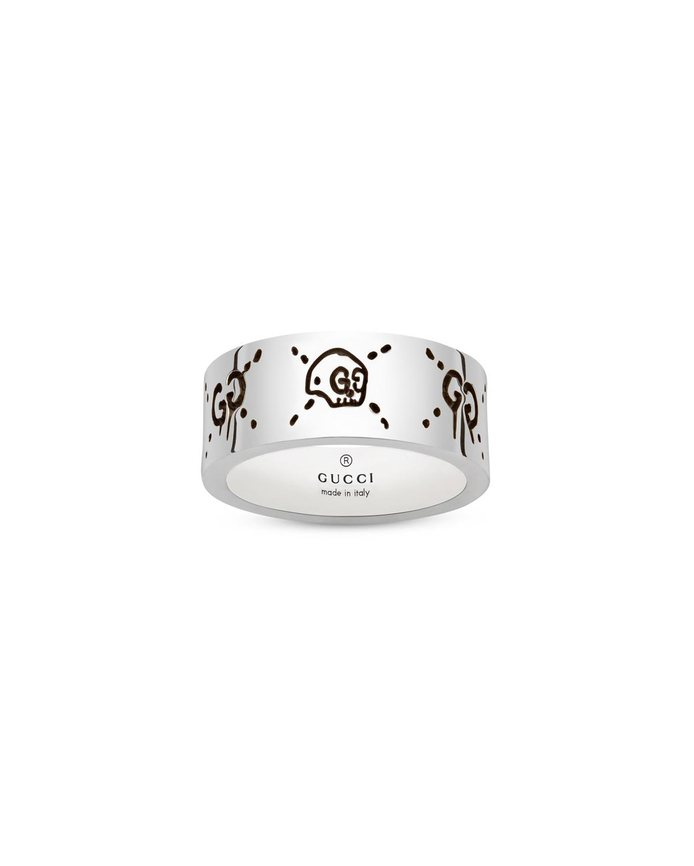 Men's Sterling Silver Ghost Ring