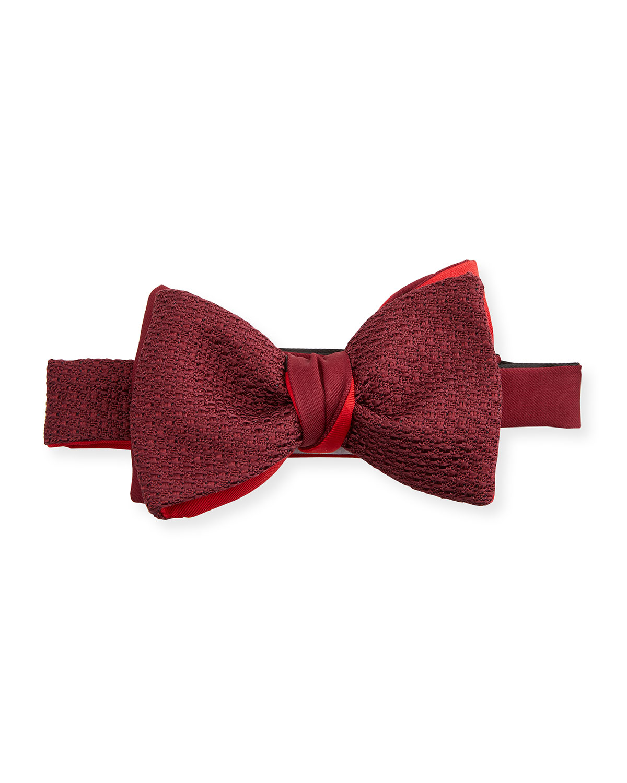Men's Grenadine Silk Bow Tie