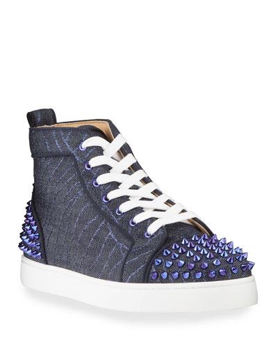 Louboutin Spike Shoes | Neiman Marcus