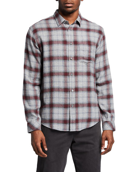 Rails Men's Brushed Lennox Plaid Sport Shirt