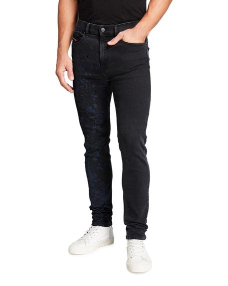 Diesel Men's D-Amny Spotted Color Denim Jeans