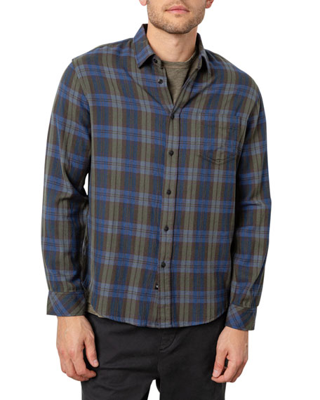 Rails Men's Lennox Plaid Sport Shirt