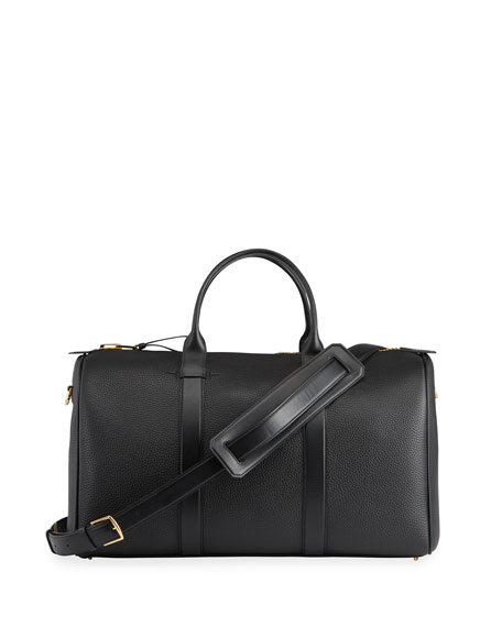 TOM FORD Men's Medium Leather Duffel Bag
