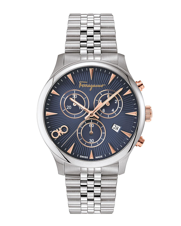 Men's 42mm Duo Chronograph Bracelet Watch