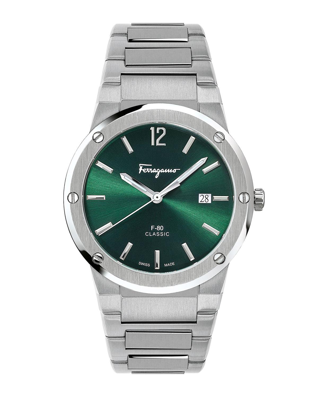 Men's 41mm F-80 Sunray Bracelet Watch