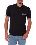PAIGE Men's Sherman Sweater Polo