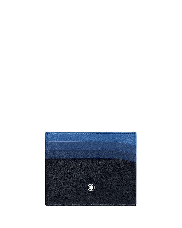 Men's Meisterstuck Degrade Leather Card Case