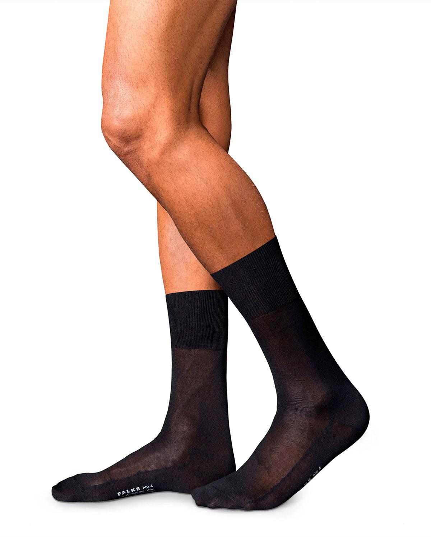 Men's No. 4 Silk Sheer Dress Socks