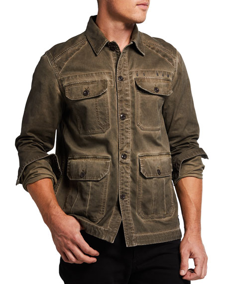 G-Star Men's 4-Pocket Utility Overshirt