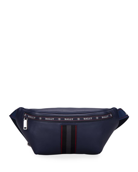 Bally Men's Trainspotting Calfskin Belt Bag