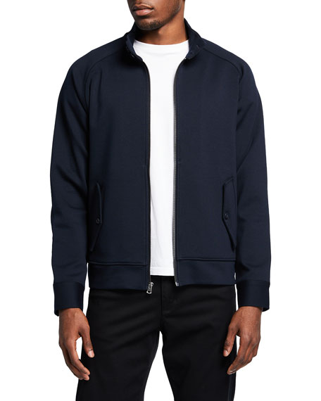 Vince Men's Knit Harrington Jacket